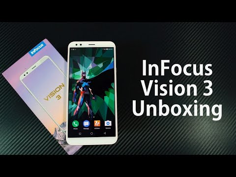 InFocus Vision 3 Unboxing, Hands on Review