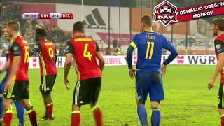 Video Belgium vs Bosnia Herzegovina 4-3 Highlights - 07 10 2017 MP3, 3GP, MP4, WEBM, AVI, FLV Oktober 2017