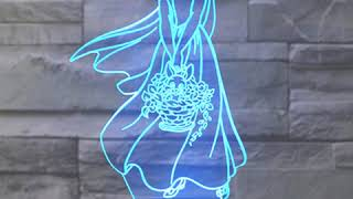 Lámpara LED Blancanieves