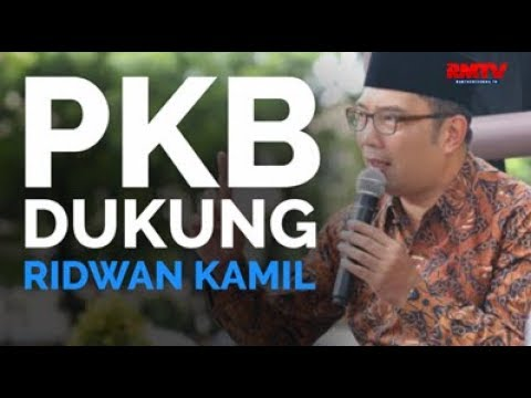PKB Dukung Ridwan Kamil
