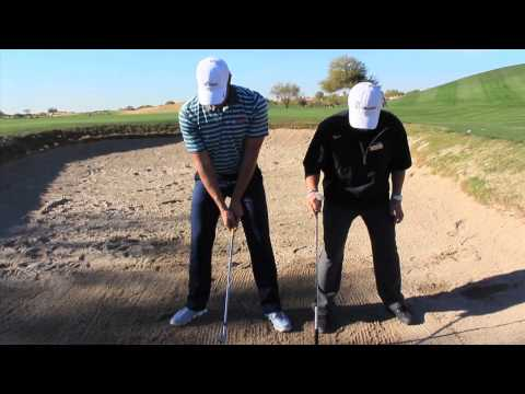 Golf Bunker Shot Lesson – Andy  Patnou PGA Tour Academy