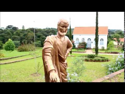 São Pedro do Butiá/RS - Centro Germânico - Estátua de São Tomé | Portal das Missões