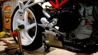 2. 2006 Ducati S2R 1000, Quat D Ex-Box exhaust