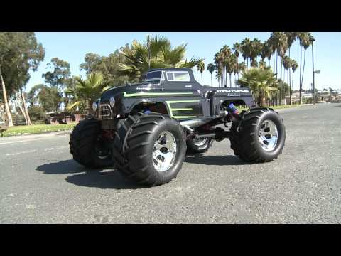 Kyosho - The Mad Force Kruiser is the latest version of the Kyosho Mad Force, a nitro-powered monster truck that is faithful to the design of full-scale monster truck...