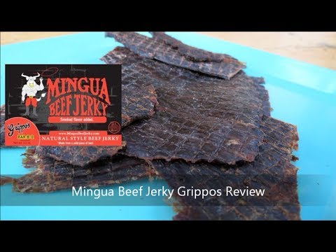 Mingua Grippos Beef Jerky Review | Armadillo Pepper
