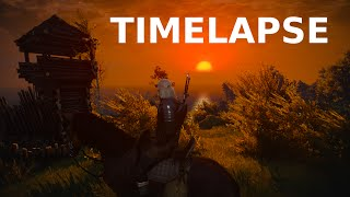 The Witcher 3 | TIMELAPSE