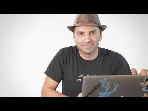Vaadin Demo Coding in a Youtube Video