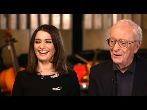 """Michael Caine and Rachel Weisz on """"Youth,"""" life lessons"""