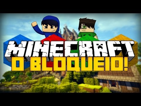 Minecraft: O BLOQUEIO! (Mini-Game Novo)