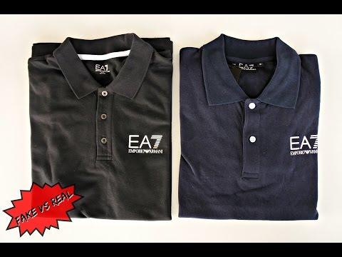 FAKE VS REAL ARMANI EA7 POLO | GETTHELABEL.COM