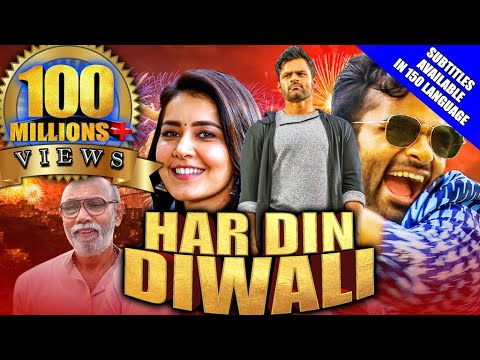 Har Din Diwali (Prati Roju Pandage) 2020 New Released Hindi Dubbed Movie | Sai Tej, Rashi Khanna