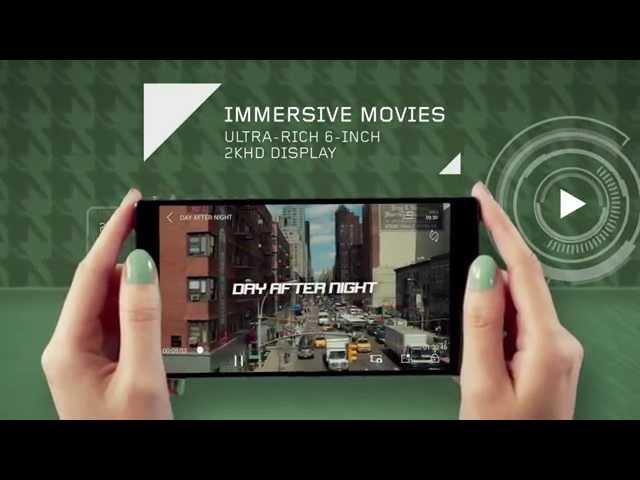 Video giới thiệu Lenovo VIBE Z2 Pro