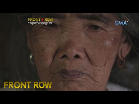 Video Front Row: Apo Whang-od, ang huling mambabatok ng Kalinga download in MP3, 3GP, MP4, WEBM, AVI, FLV January 2017