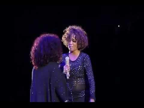 Whitney Houston feat  Chaka Khan Tell me something good live