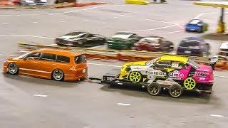Video MEGA RC Drift Car Action! Awesome R/C drift cars! MP3, 3GP, MP4, WEBM, AVI, FLV Januari 2019