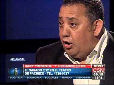 C5N - EL ANGEL DE LA MEDIANOCHE CON LUIS DELIA