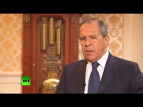 Preview - Russia will retaliate if it is attacked and the interests of the Russian people are threatened, Sergey Lavrov told in an interview with RT's Sophie Shevardna...