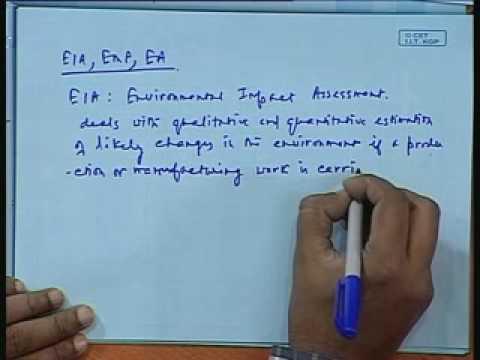 Lec-36 EIA,EMP&EA;