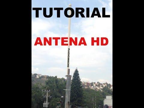 ANTENA HECHA EN CASA PARA VER HD HDTV TDT DIGITAL, *MUY FACIL*