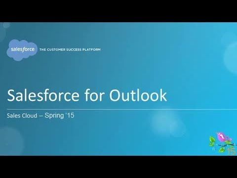 Spring '15 - Salesforce for Outlook