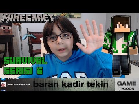 Minecraft Survival Game Serisi #S1 #6 - BKT