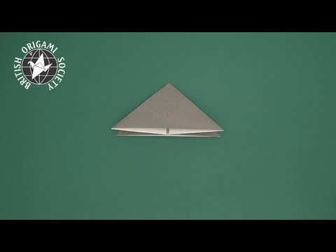 Tip 11-01 - Triangle Base Fold (method #1)