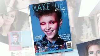 """Artykuł poświęcony retuszowi w magazynie """"Make-Up Trendy""""/ lato 2016"""