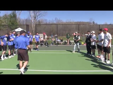 2016 NAC East Men's Tennis Championship Highlights