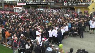 Video Valencia pay tribute to Marco Simoncelli MP3, 3GP, MP4, WEBM, AVI, FLV Maret 2019