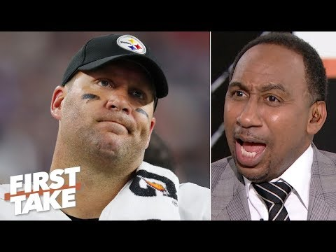 Video: Big Ben was straight garbage vs. the Patriots - Stephen A. is disgusted by the Steelers | First Take