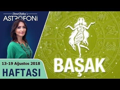 BAŞAK Burcu 13-19 Ağustos 2018 HAFTALIK Burç Yorumu, Demet Baltacı (видео)