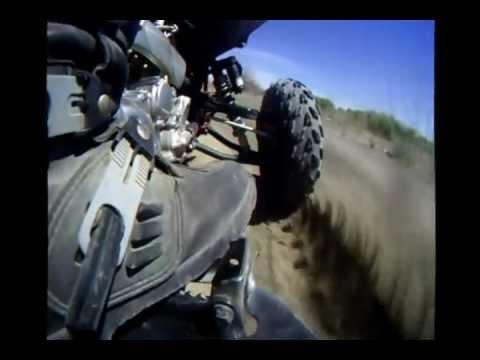 GoPro Mounted on Heel Guard (видео)