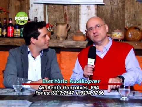 Ricardo Orlandini entrevista o doutor em Mastigação, Rafael de Liz Pocztaruk