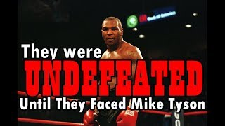 Video Mike Tyson vs 6 UNDEFEATED Opponents MP3, 3GP, MP4, WEBM, AVI, FLV Desember 2018
