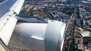Air Malta A319 landing at Vienna International Airport (VIE, LOWW), Schwechat. Flight KM514 from Malta International Airport...