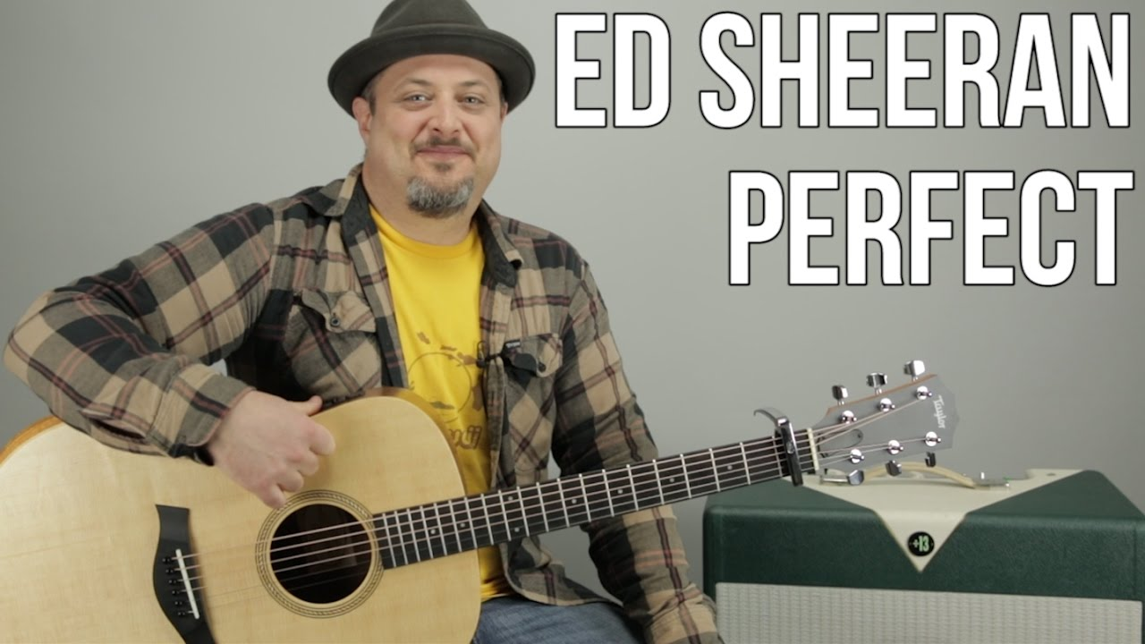 Perfect – Ed Sheeran // Guitar Tutorial (Picking & Strumming) How to Play Easy Songs