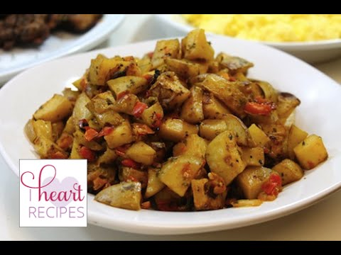 Breakfast Potatoes aka Potato O'Brien | I Heart Recipes