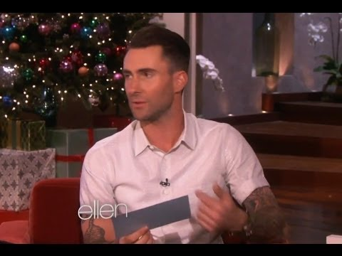adam - For all your music needs ▻▻ http://bit.ly/ClevverMusic Adam Levine reveals how he's changed since becoming Sexiest Man Alive and gets busted on The Ellen Sho...