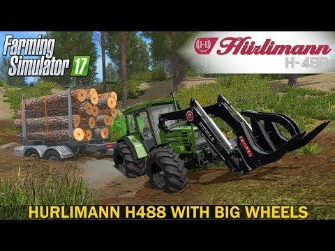 Huerlimann H488 with big wheels v1.0