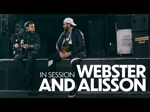 Video: In session: Alisson Becker and Jamie Webster   Keeper sings 'Allez, Allez, Allez'