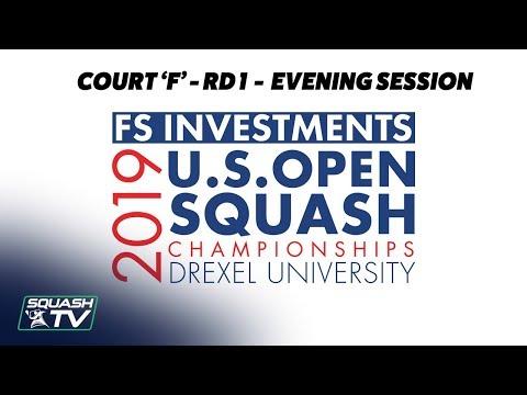 U.S. Open 2019 - Rd 1 Evening Session - Racquet Club Court F
