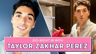 The Kissing Booth 2's TAYLOR ZAKHAR PEREZ has you over for Movie Night | Big Night In by Seventeen Magazine