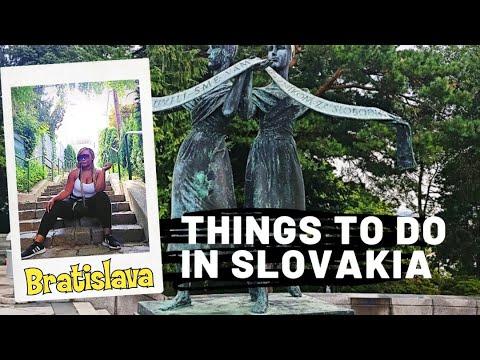 Exploring Sites in Bratislava, Slovakia | Travel Vlog | Stopover in Slovakia | #slovokia #bratislava