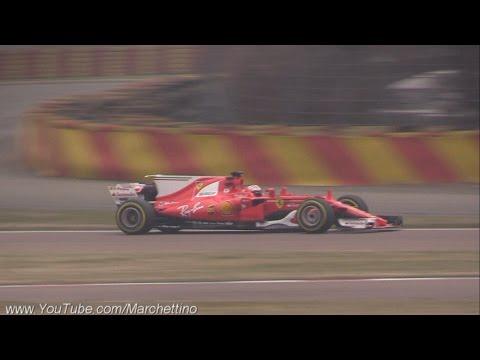 2017 Ferrari F1 SF70H First Shakedown & Engine Sound!_A héten feltöltött legjobb sportkocsi videók