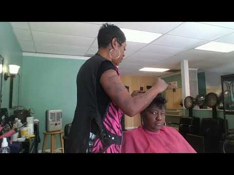 HOW TO CREATE THE PERFECT CUT WITH THINNING EDGES!!!