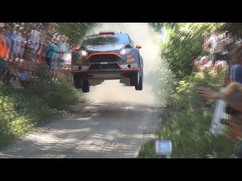 Vídeo saltando en el WRC Rallye de Polonia 2015