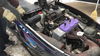 8. Lot 60 - 1996 Polaris Indy XLT Snowmobile * Part One