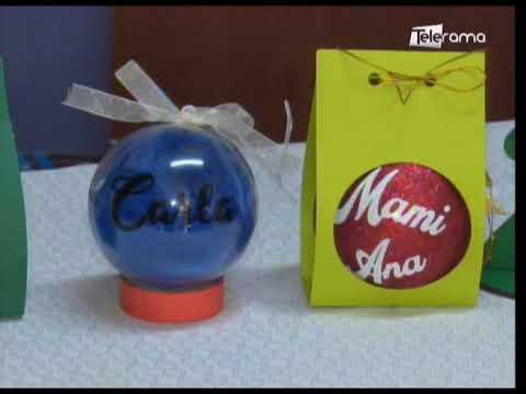 Esferas navideñas personalizadas