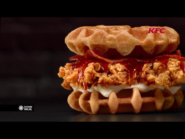 KFC Zinger Waffle Burger