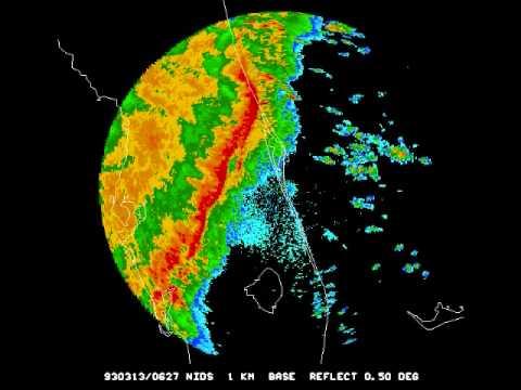 Superstorm Subtropical Derecho –  12-13 Marzo 1993